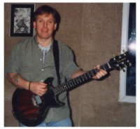 Craig with Chris Smith's Guitar